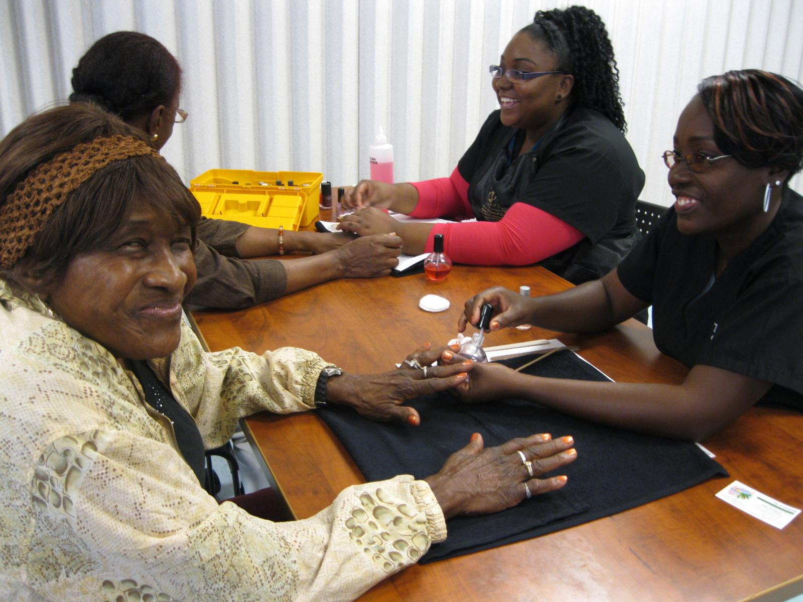 city of lauderhill seniors senior center nails