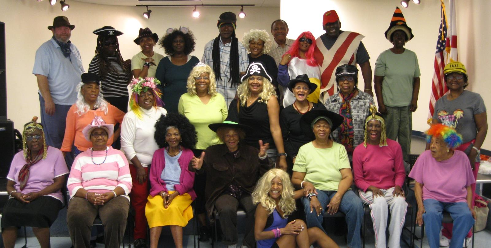 Senior Center Costumes
