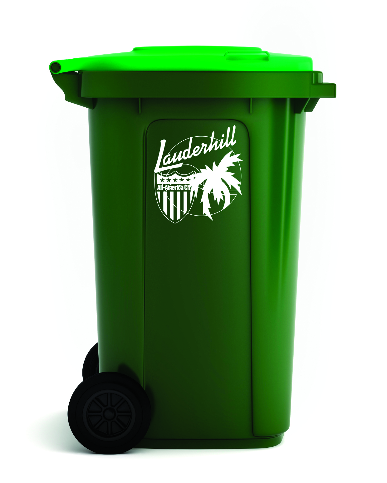 96-Gallon Garbage Container (Cart)