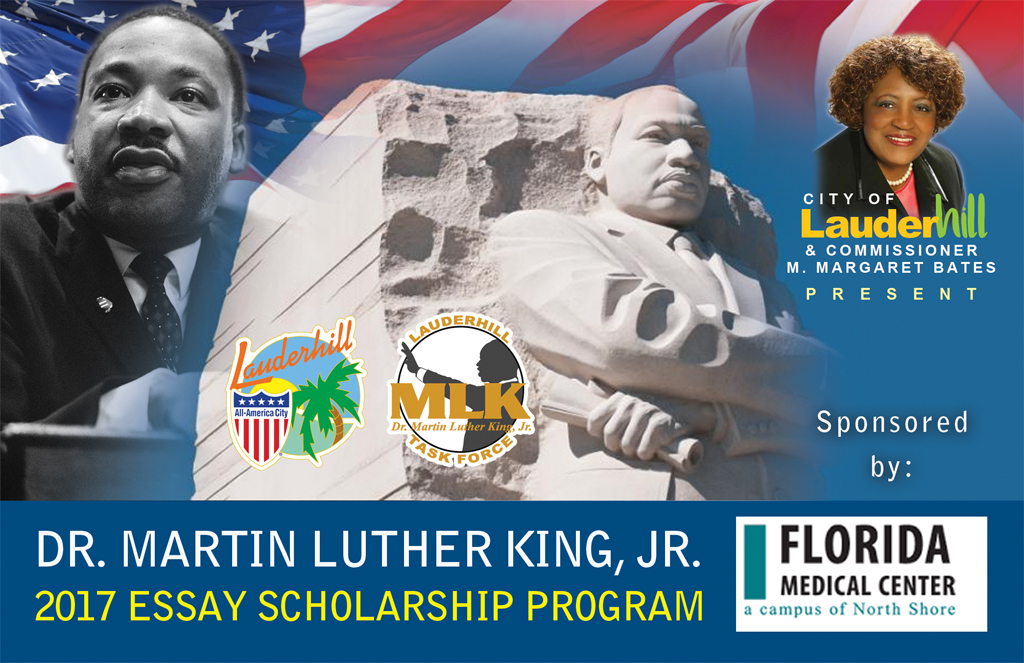 2017 Dr. Martin Luther King, Jr. Essay Scholarship Contest