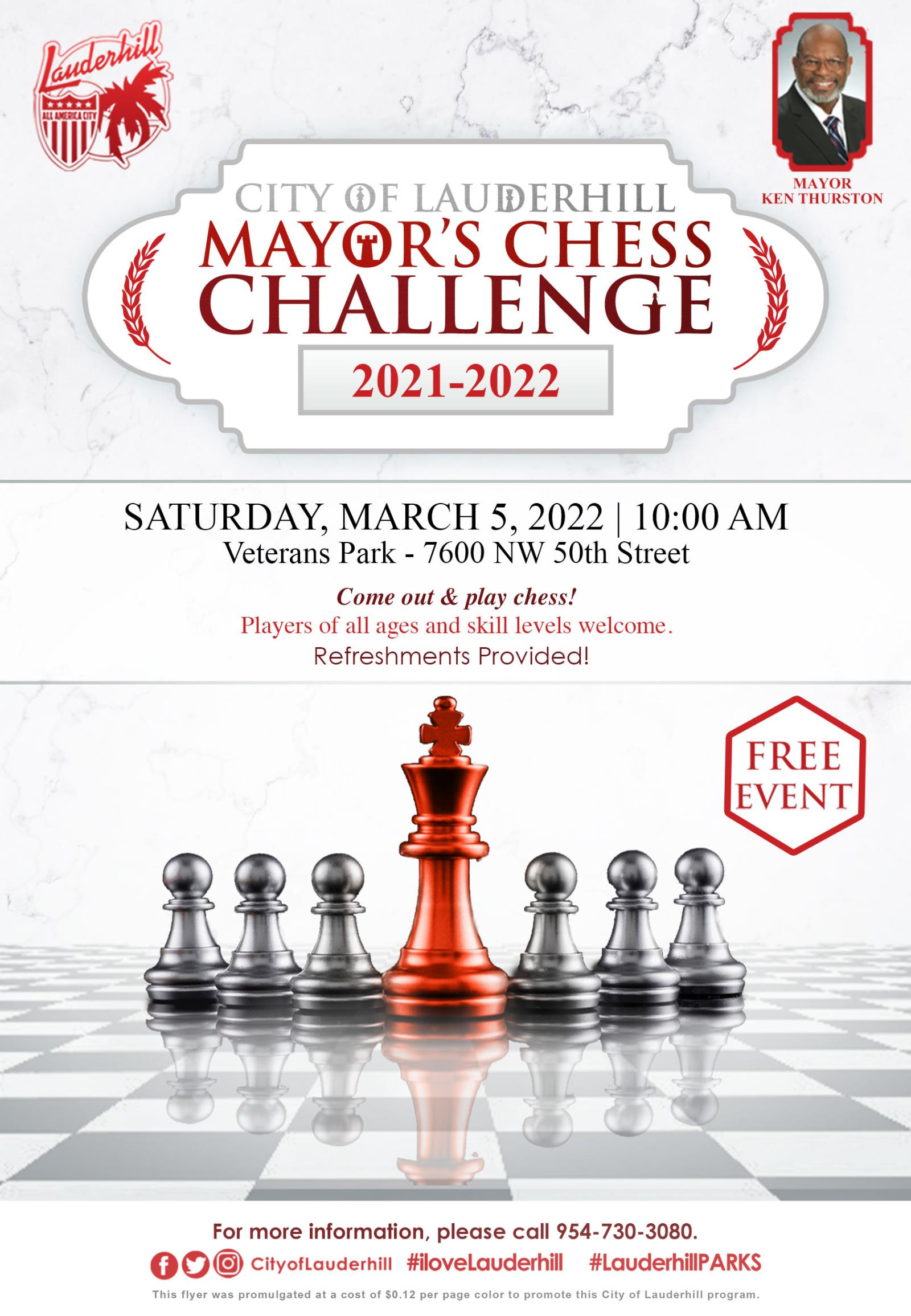 Mayor's Chess Challenge