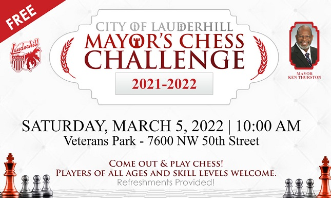 Mayor's Chess Challenge Flyer - Web Slideshow