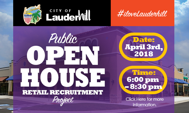 Public Open House April 2018