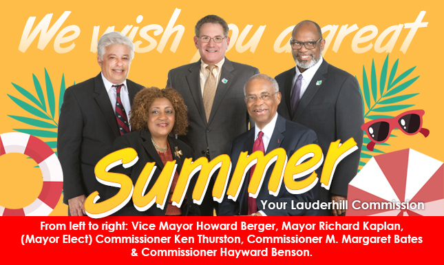 Lauderhill Commission Summer 2018