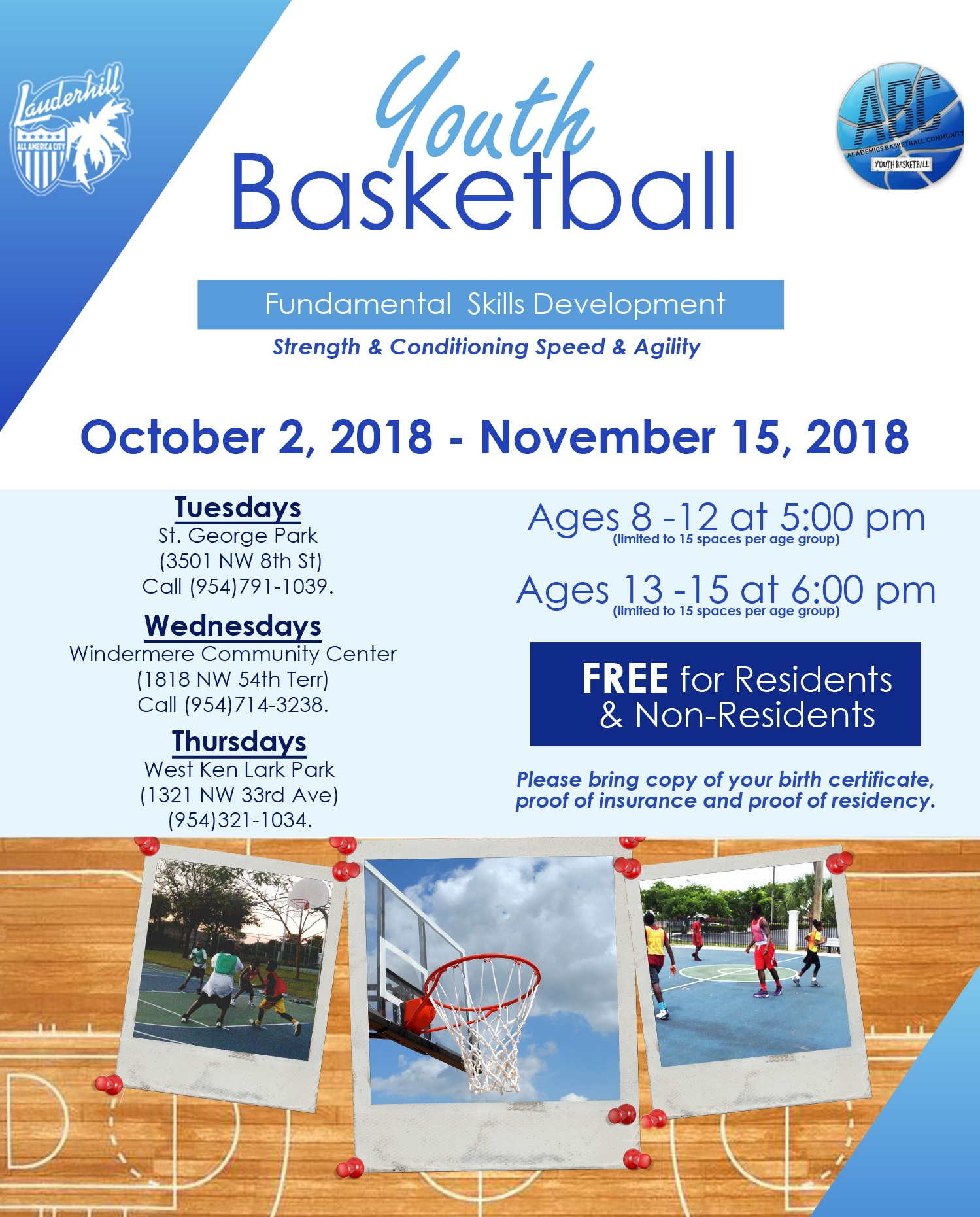 Youth Basketball Fundamental Skills Development