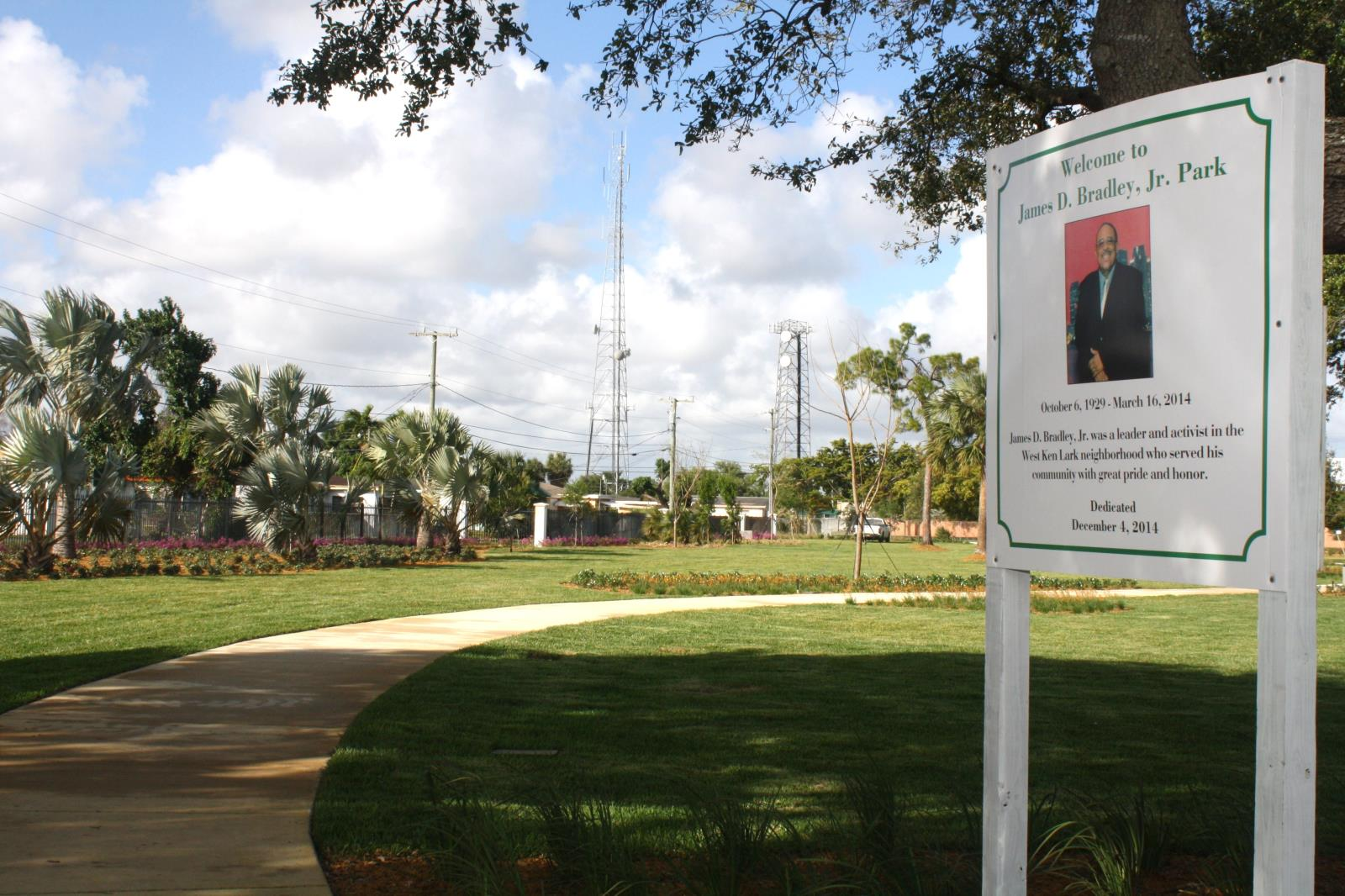 James Bradley Park - Public Art Recognition