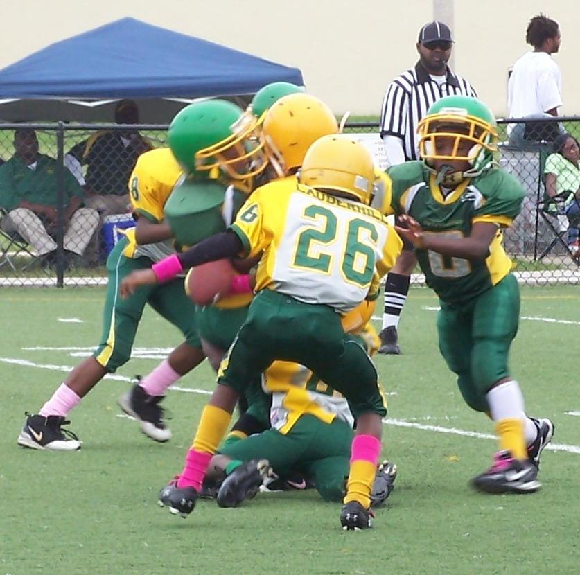 Lions Football Tackle