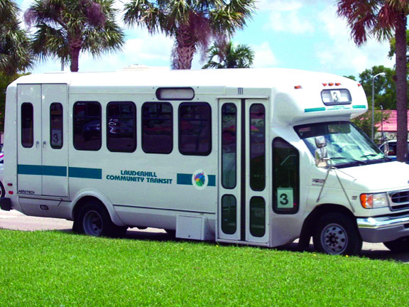 Lauderhill Community Shuttle Bus