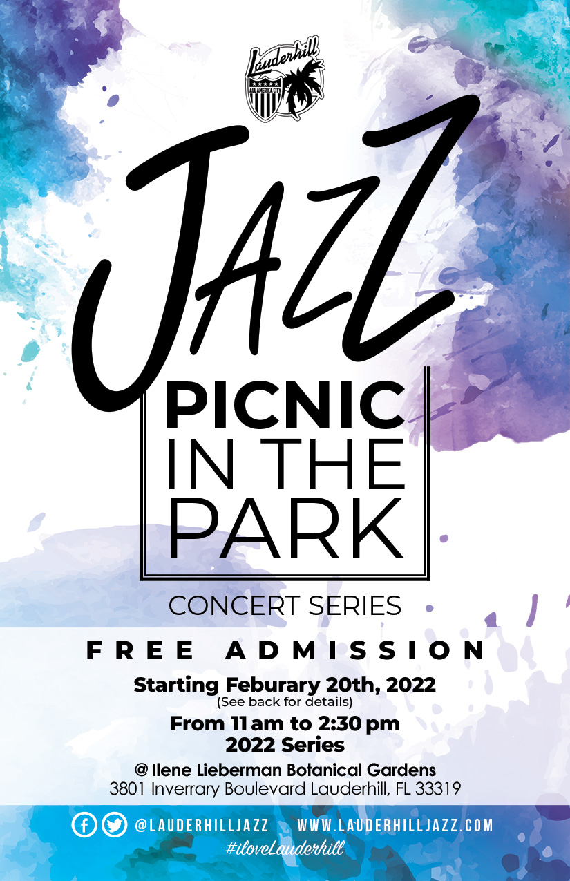 2018-2019 Mayor's Jazz Concert Series Flyer
