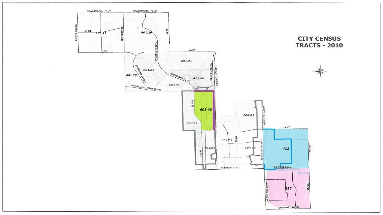 Lauderhill Opportunity Zone Census Tracts