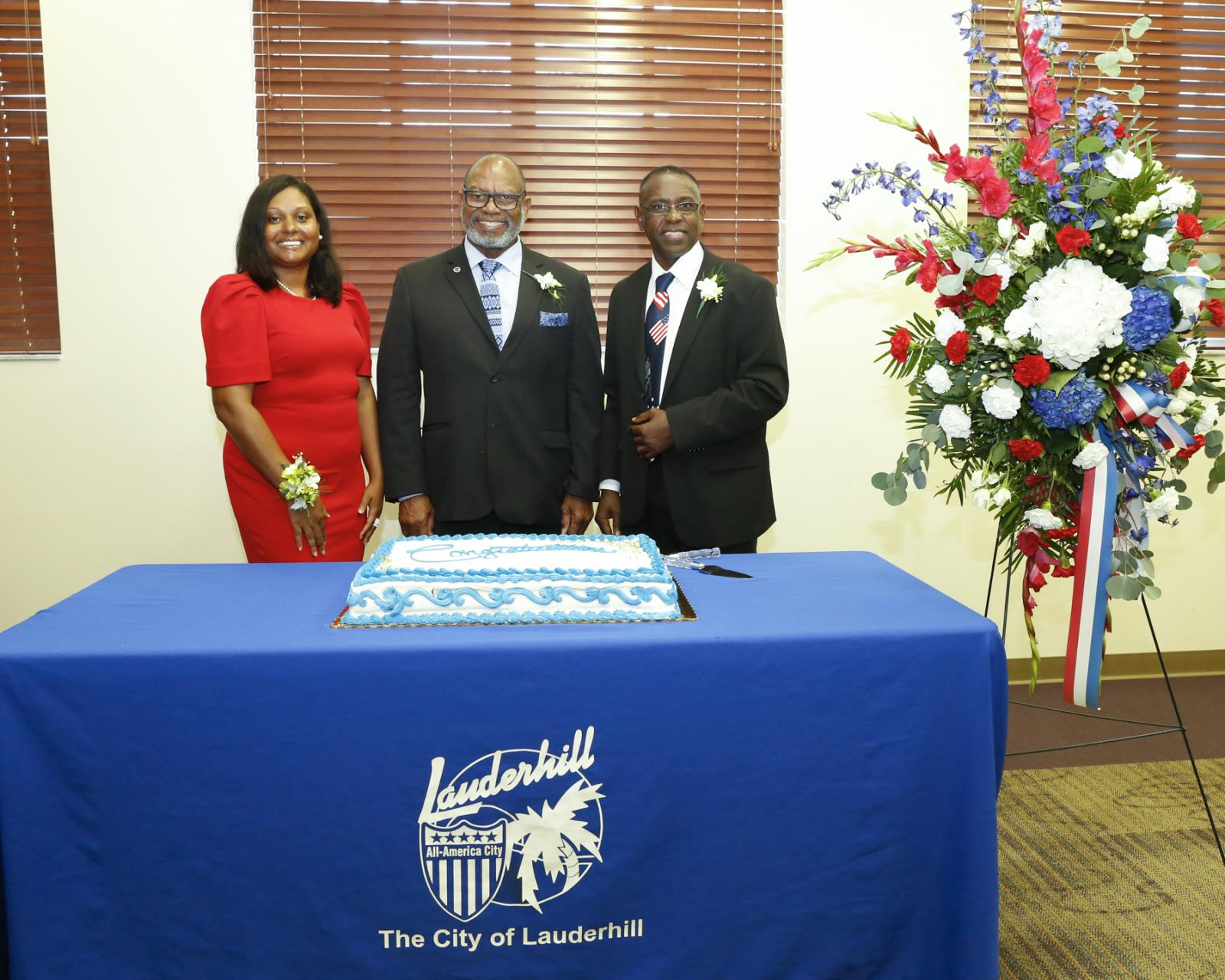Commissioner Grant, Mayor Thurston, & Commissioner Campbell
