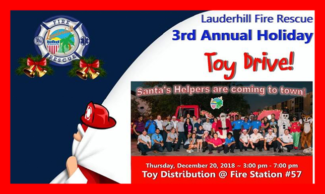 Fire Dept Holiday Toy Drive (1)