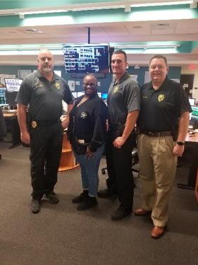 Officers with communications operators that serve Lauderhill