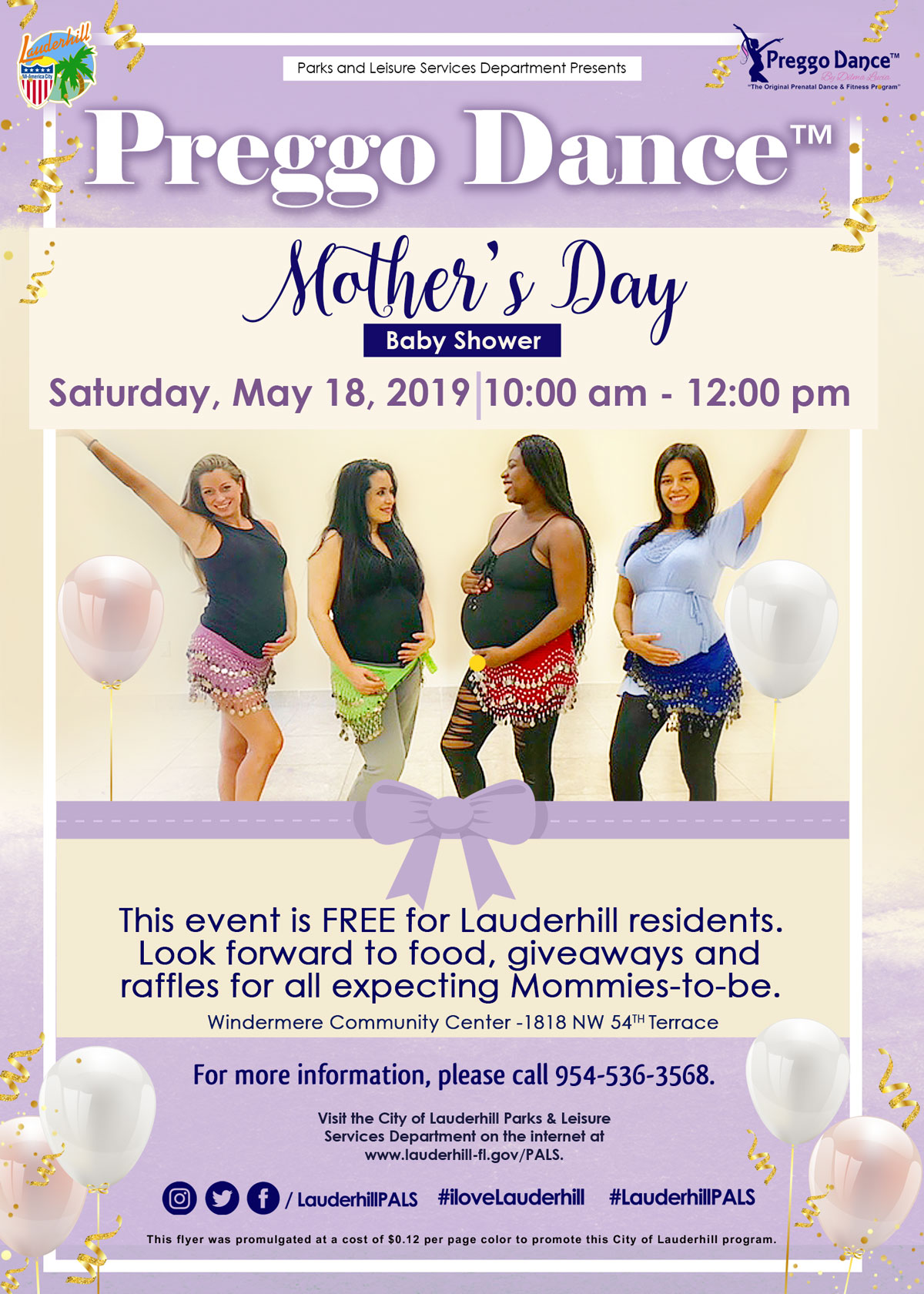 5-18-19 - Preggo Dance Mother's Day Baby Shower at Windermere