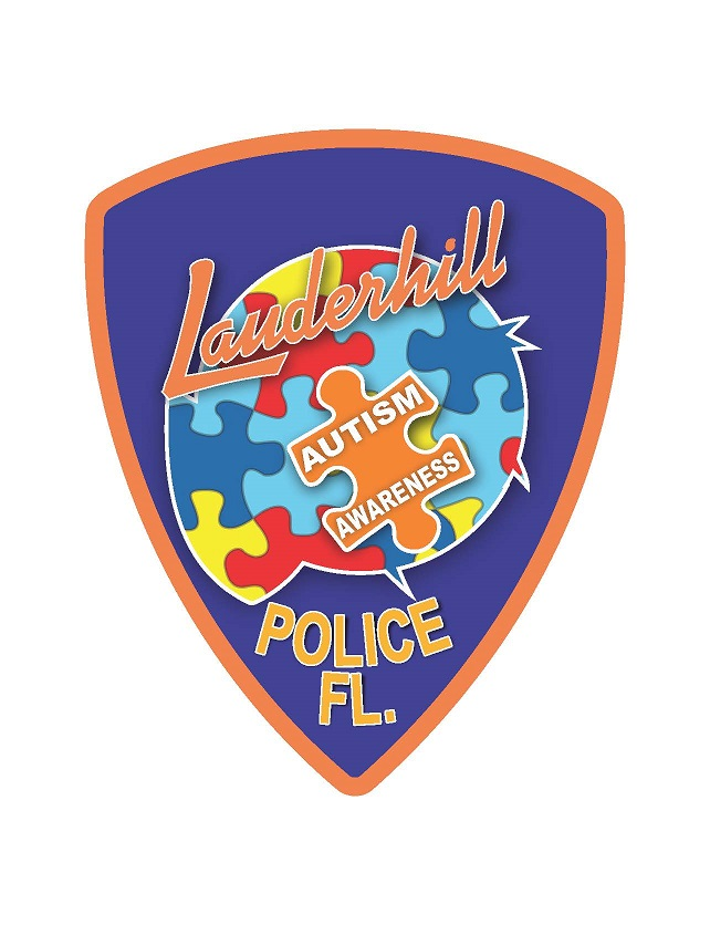 Lauderhill Police Autism Awareness Logo