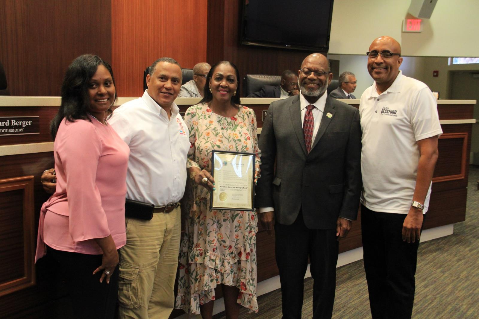 Miami Broward One Carnival Host Committee accepts the accolade