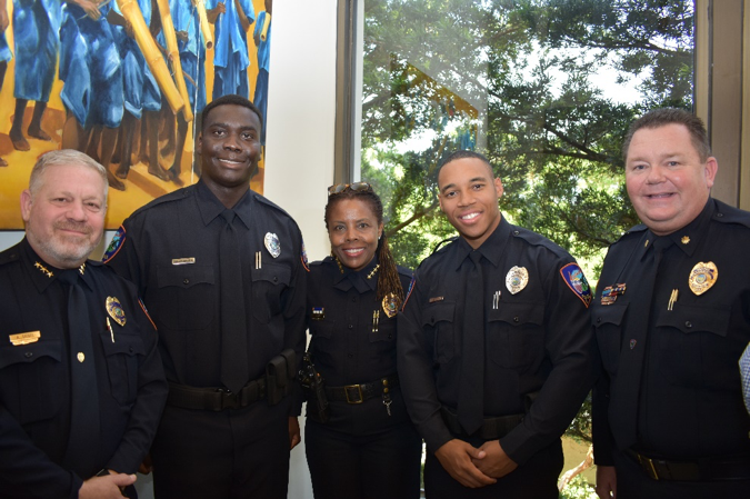 New LPD Officers