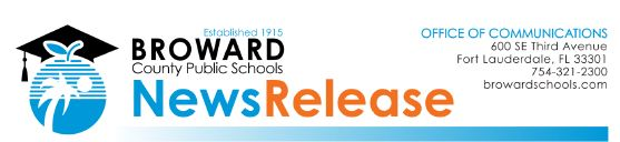 Broward County Public Schools News Release Logo