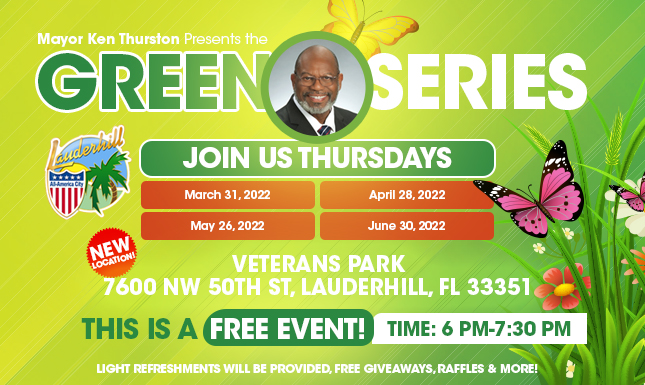 Green Series Flyer for 2020