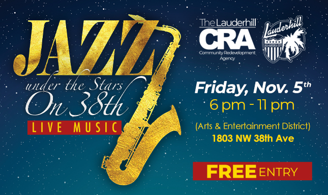 1-24-29 - Jazz Under the Stars on 38th Event