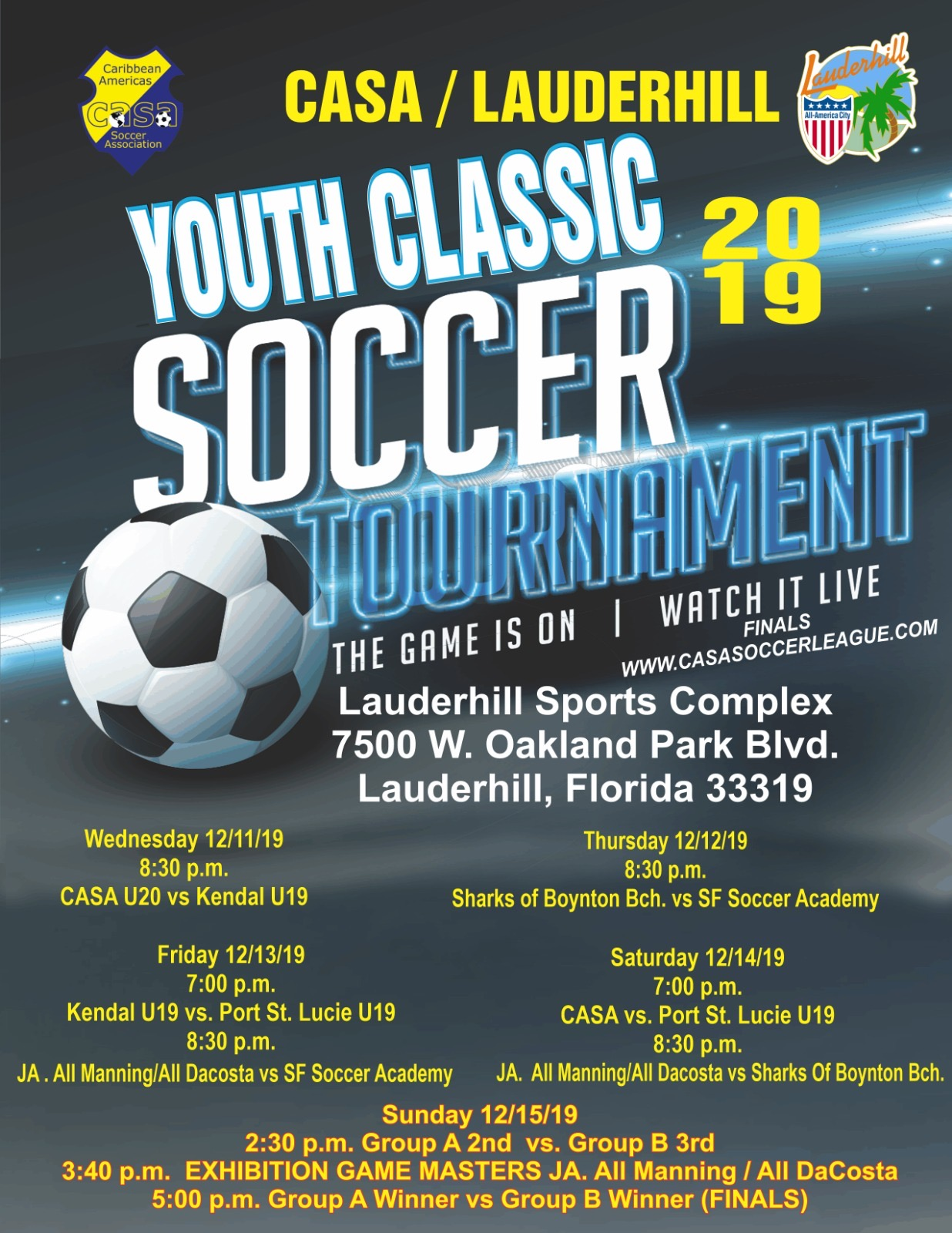 CASA Youth Soccer Classic