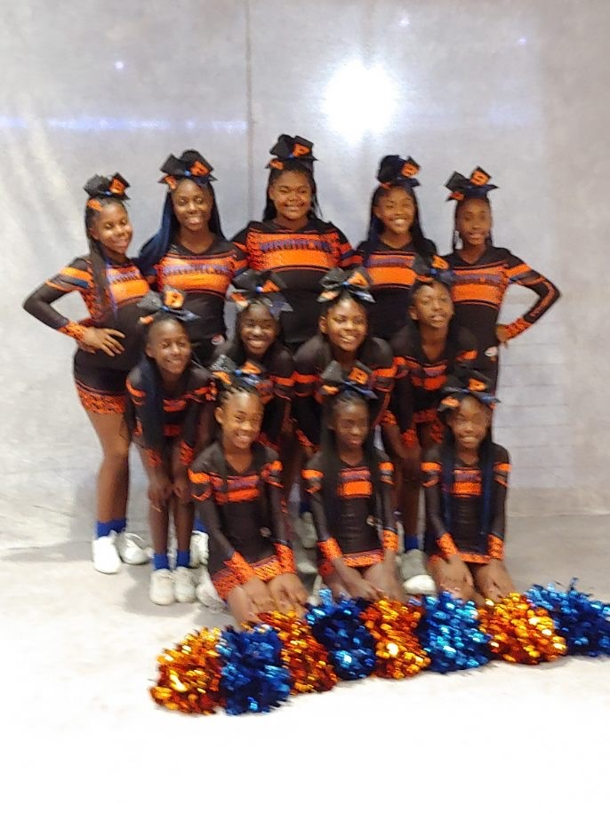 Lady Broncos Cheer Squad