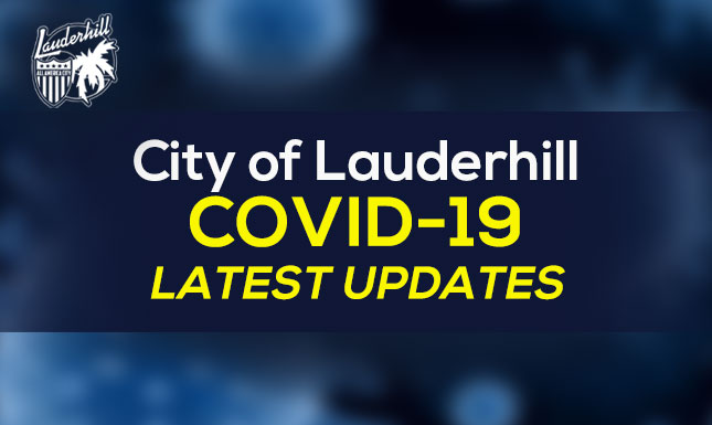 Coronavirus (COVID-19) City of Lauderhill Latest Updates