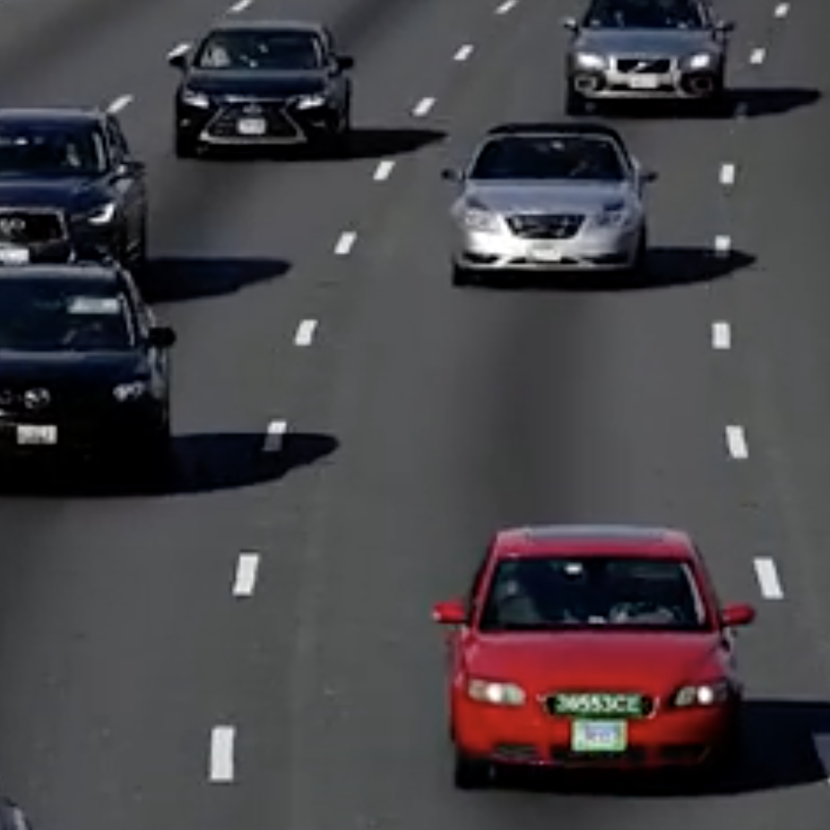 Cars on highway in daytime