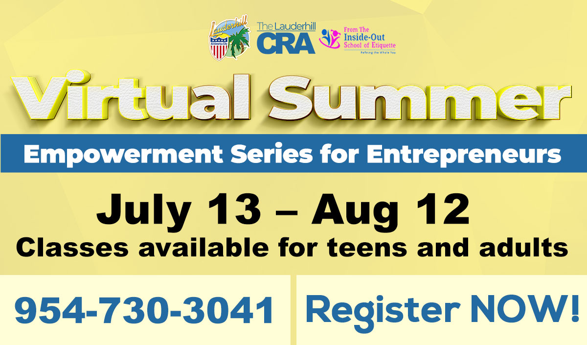 7-13-20 to 8-12-20 - Virtual Summer Empowerment Series for Entrepreneurs