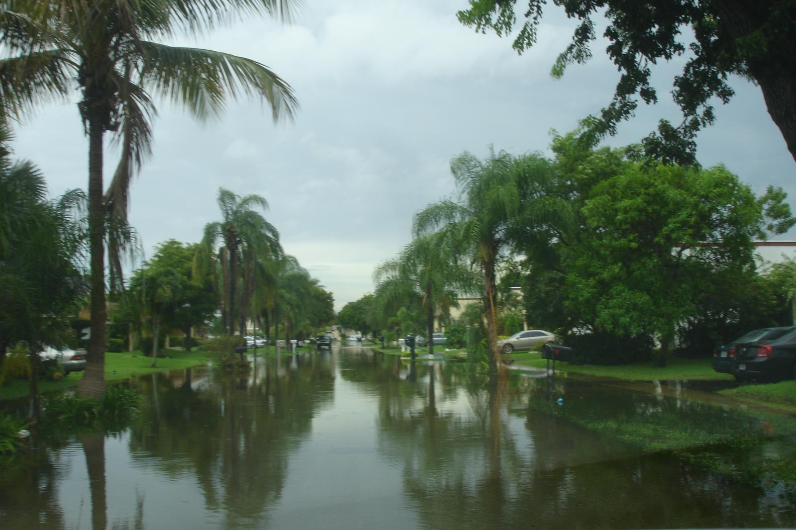 Tropical Storm Isaac Flooding Picture