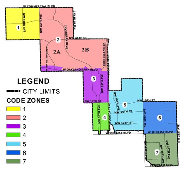 Zoning Map & Officers | City of Lauderhill