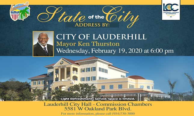 Mayor State of the City Feb 2019