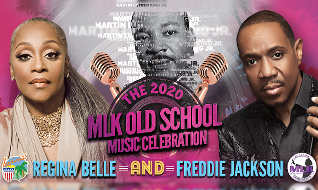MLK OLD SCHOOL Music Celebration flyer