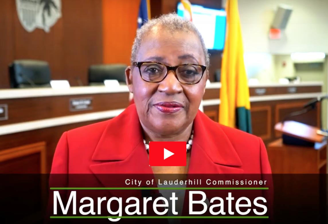 Commissioner M. Margaret Bates Play YouTube Video Image