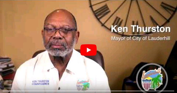 Mayor Thurston Social Distancing YouTube Video Screenshot