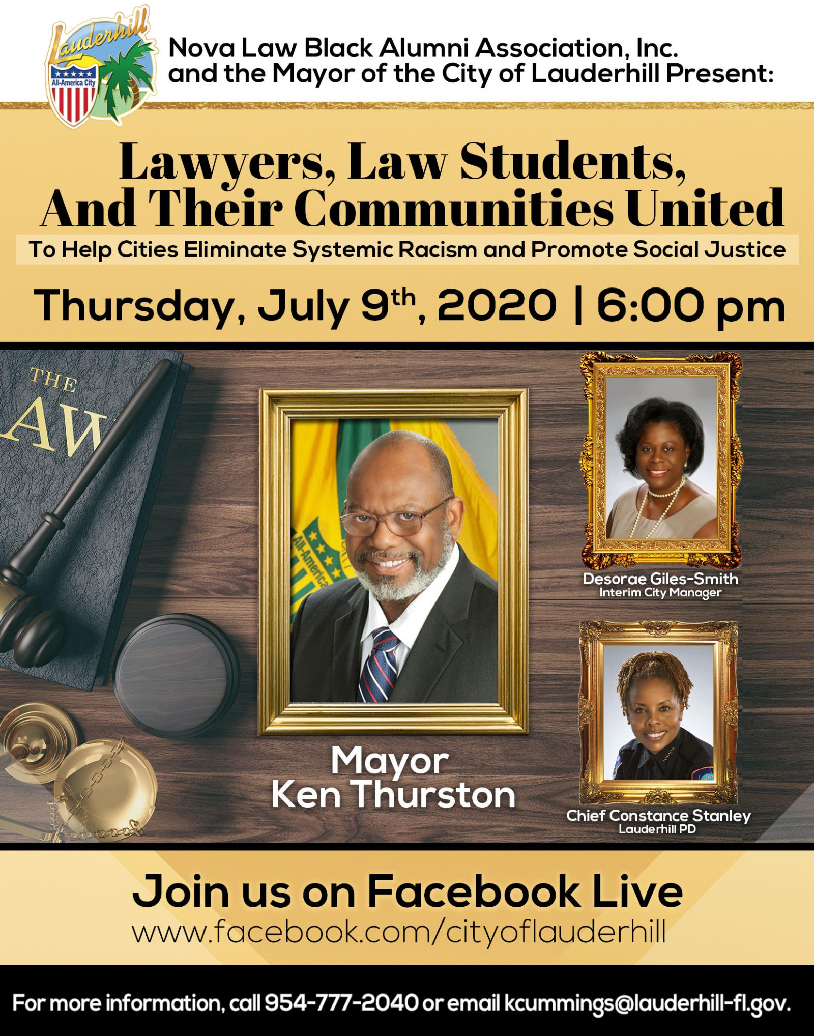 7-9-20 - Lawyers, Law Students, And Their Communities United